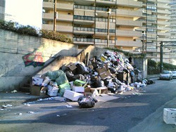 Spazzatura a Napoli