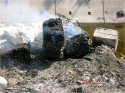 Combustione di indumenti