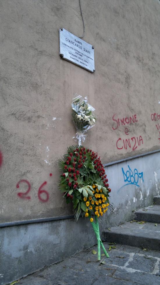 In memoria di Giancarlo Siani