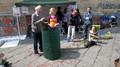Prima iniziativa pubblica dell'iniziativa Compostiamoci Bene promossa dal CO.RE.ri. - Coordinamento Regionale rifiuti Campania con il MOA - Movimento Onda Anomala e con la partecipazione dello SCI (ComostiamoSCI)