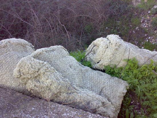 Tronconi lanoso-minerali. Usati per coibentazioni