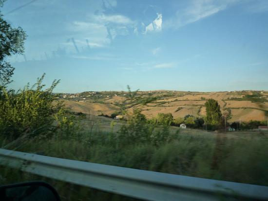 Arrivando a Savignano