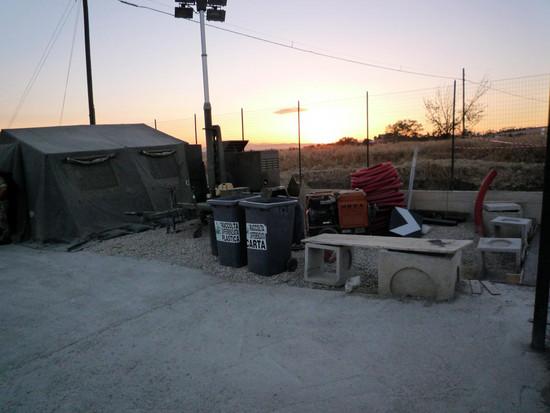 Raccolta differenziata all'interno della discarica di Savignano Irpino