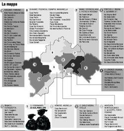 Mappa delle discariche abusive