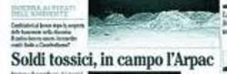 Le pagine del Mattino di otto anni fa in cui si raccontava del ritrovamento delle banconote tossiche