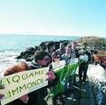 Protesta dei Verdi