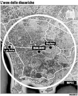 L'area delle discariche