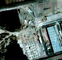 II cantiere  I rilievi aerofotogrammetrici hanno evidenziato cumuli sospetti di terra e detriti
