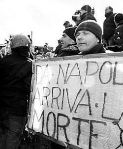 Proteste ad Ariano Irpino