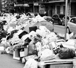 Si aggrava la situazione rifiuti in Irpinia La raccolta è ferma da sabato