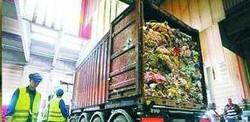 Un carico di rifiuti arrivato ad Amburgo e proveniente da Napoli