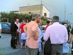 Tommaso Esposito parla al sindaco di Acerra