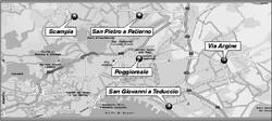 Le possibili localizzazioni dell'inceneritore di Napoli