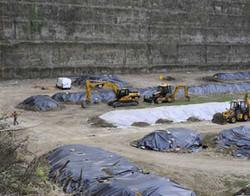La cava di Chiaiano dove sorgerà una discarica