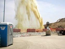 Villaricca, ecco il geyser di percolato che ha messo nei guai Bertolaso e la sua vice. Le fotografie sono state scattate nel giugno del 2007 da Giovanni Parascandola Ladonia, appuntato dei carabinieri.