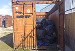 I container della spazzatura