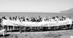 Protesta a Salerno