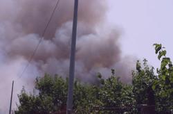 Incendio doloso nello sversatoio di Somma Vesuviana