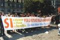 Comitato Allarme Rifiuti Tossici alla manifestazione napoletana del 19 Maggio