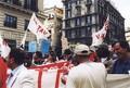 Napoli 19 Maggio: Manifestanti in Piazza ancini